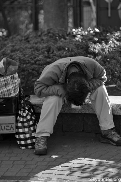 homeless Japanese