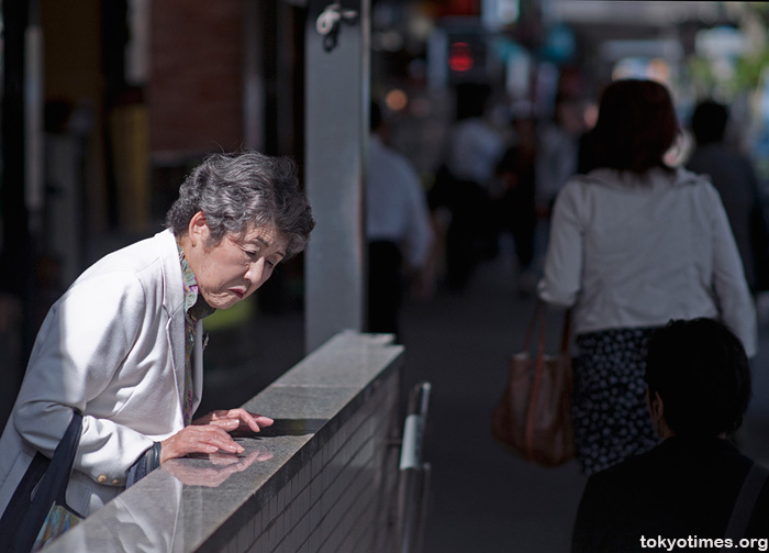 waiting in Tokyo