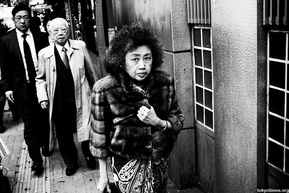 interesting Japanese woman in Shibuya