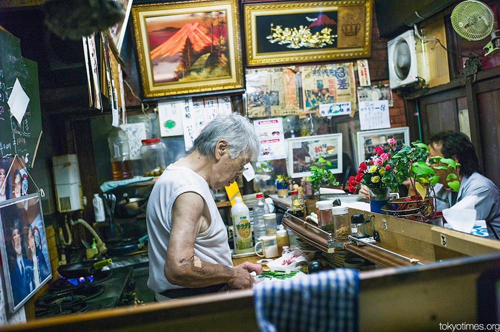 interesting, character-filled Japanese bar