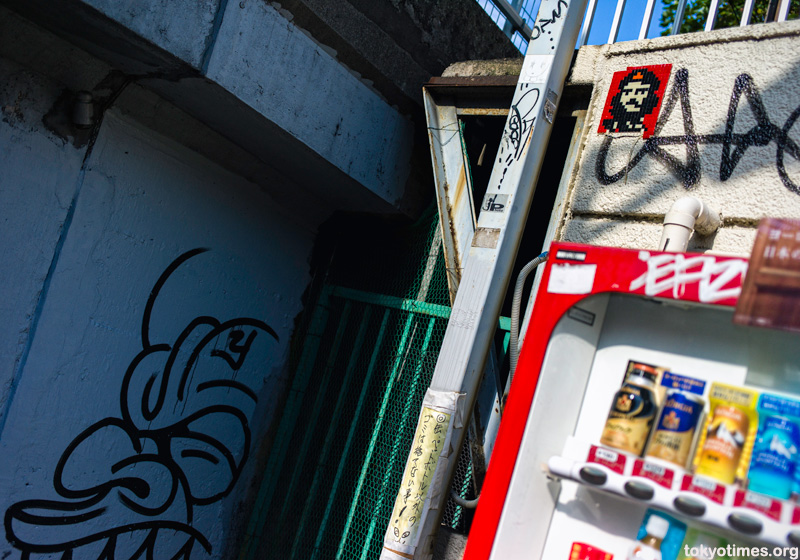 Japanese Invader urban art