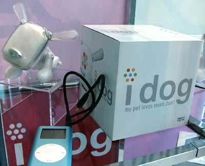 ipod and idog