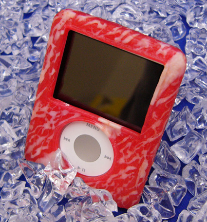 iPod meat case