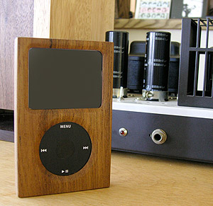 wood ipod cover japan