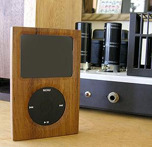 wood ipod cover japan