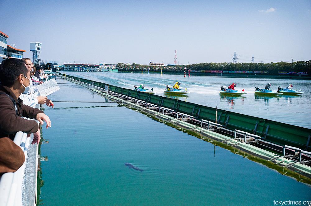 Japanese boat racing kyotei