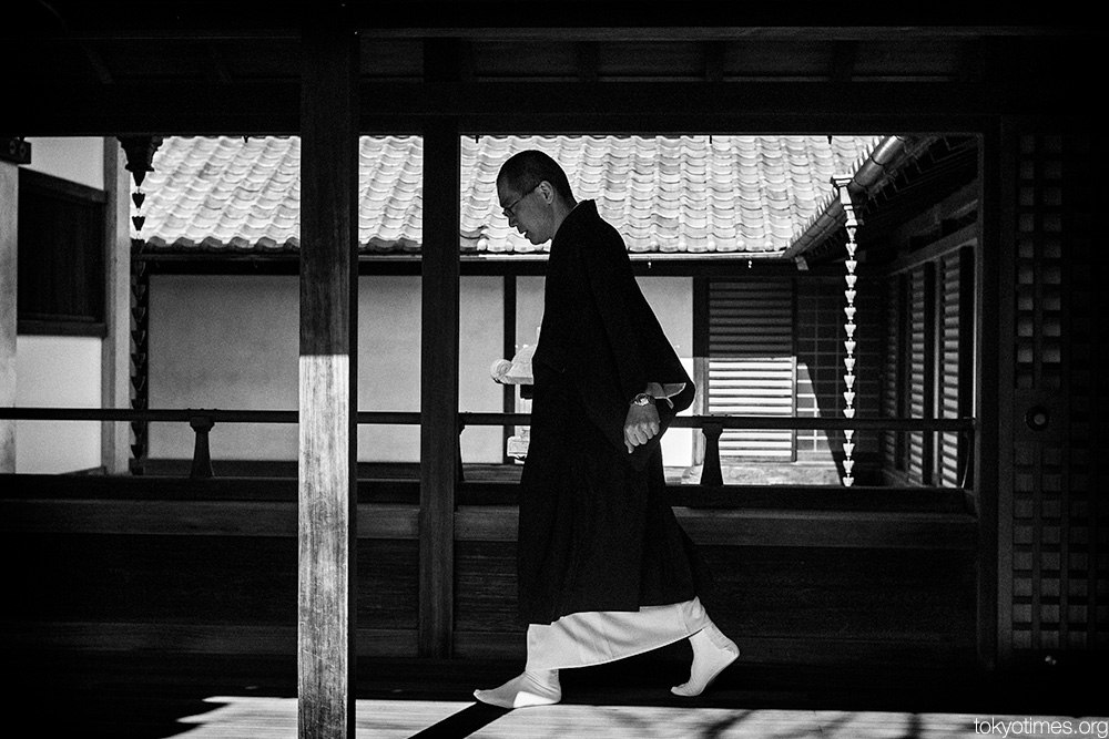 Japanese Buddhist priest