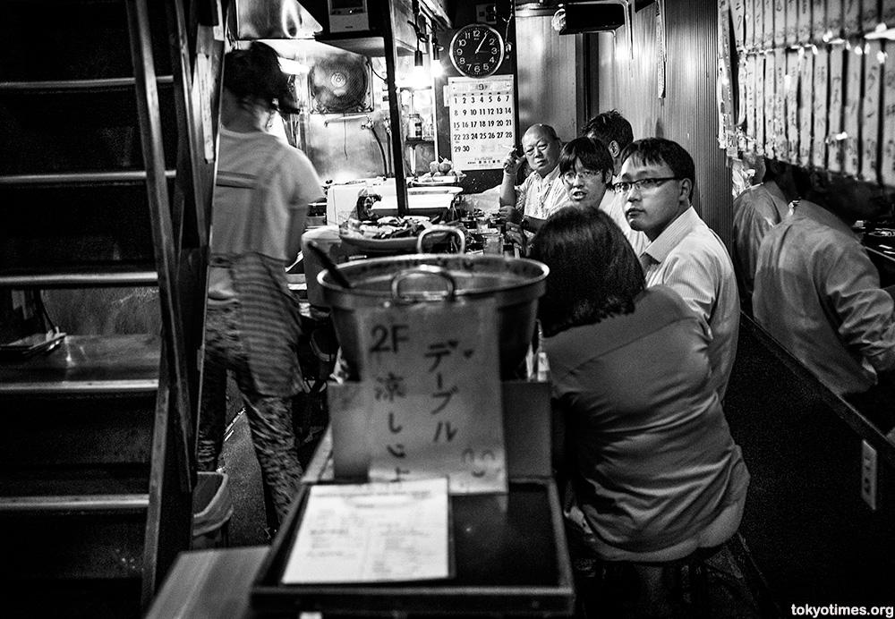 Japanese drinkers