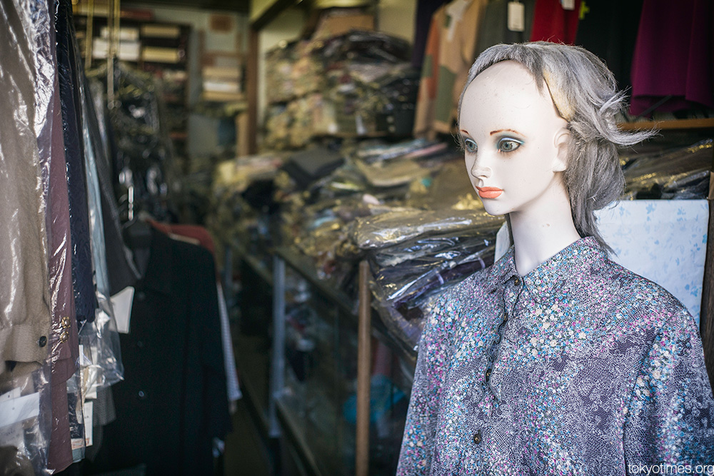 Japanese foreign mannequin