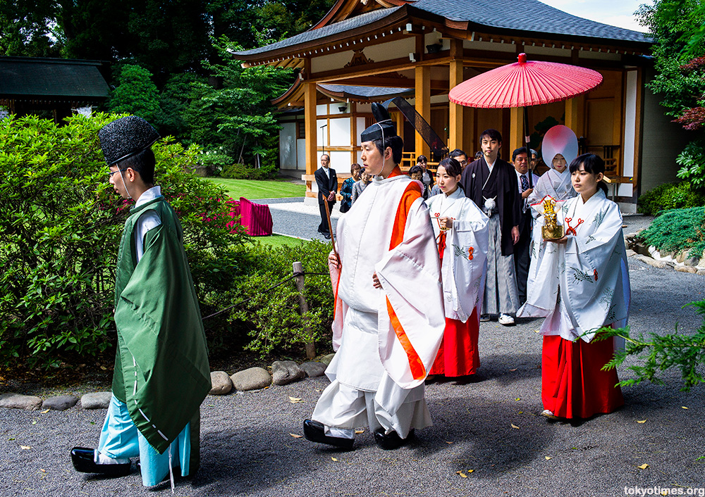 Japanese traditional June bride