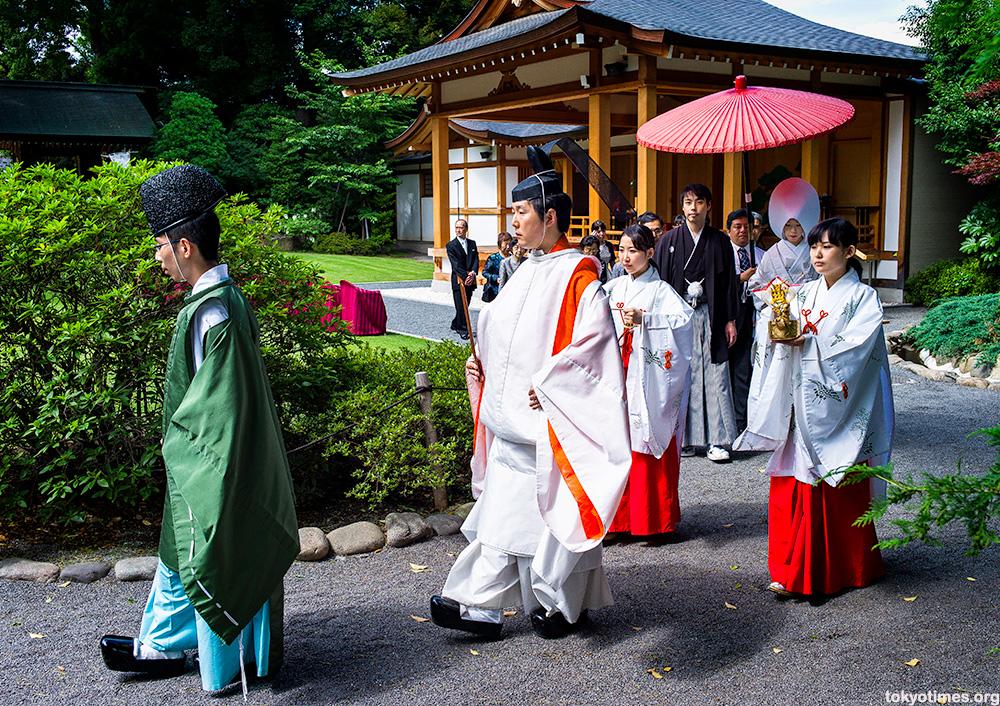 Japanese traditional June bride