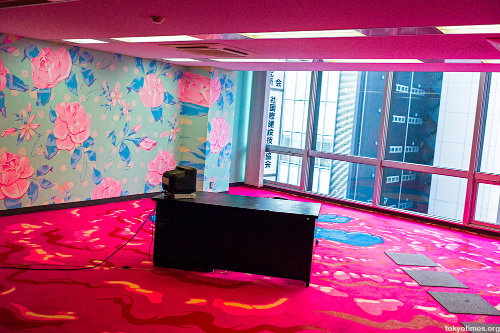 Japanese office after artists were let in