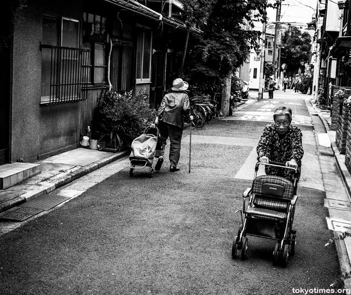 Japanese old people