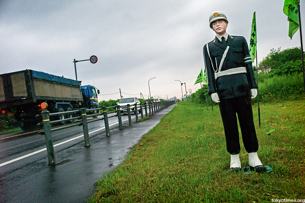 Japanese roadside fake policeman