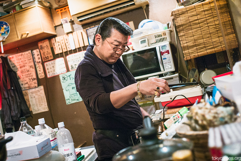 Tokyo rockabilly bar owner