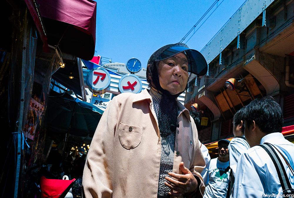 Japanese sun visor summer fashion