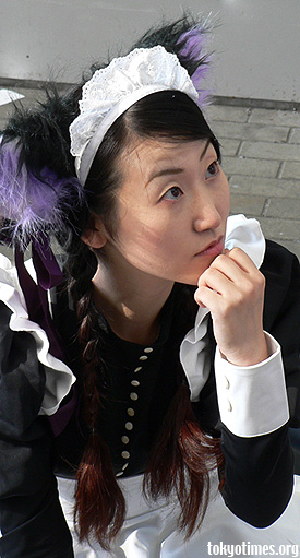 cosplay maid