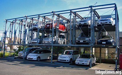 Japanese car parking