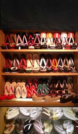 traditional japanese shoes