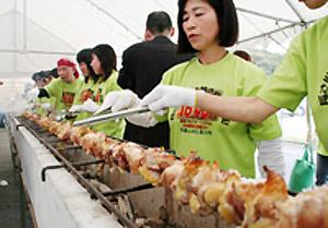 Jumbo Japanese yakitori
