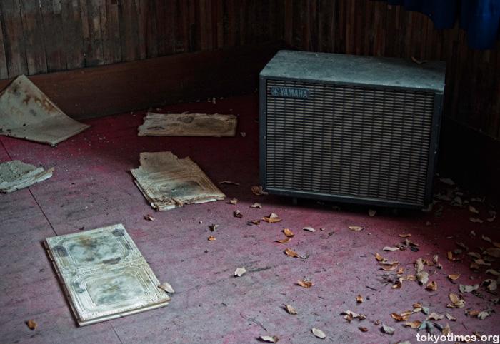abandoned Japanese studio hotel