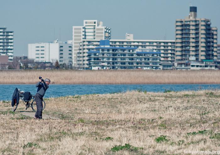 Japanese golfer
