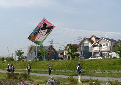 huge kite