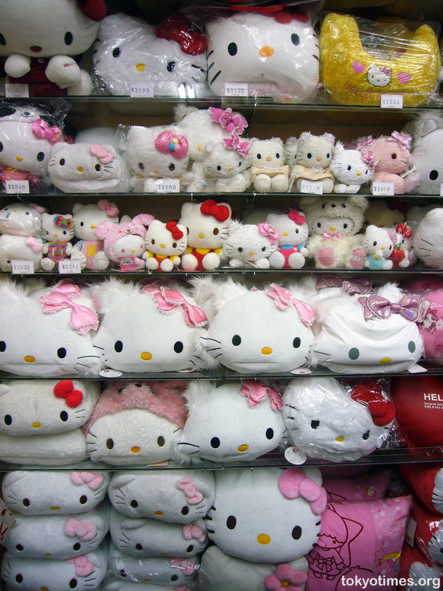 With countless Japanese shops crammed with more Hello Kitty crap than anyone