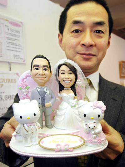 Hello Kitty wedding wishes