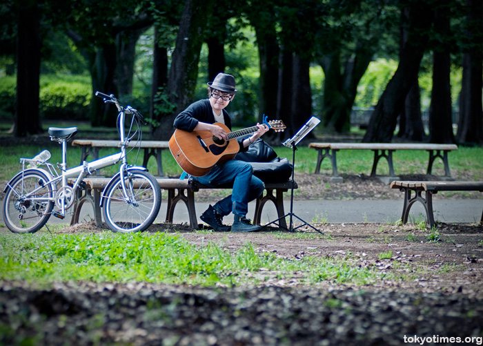 Tokyo singer and guitarist