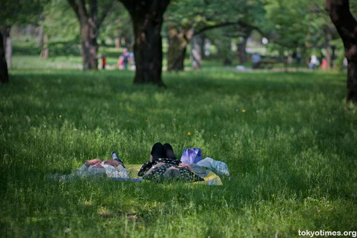 Tokyo summer heat