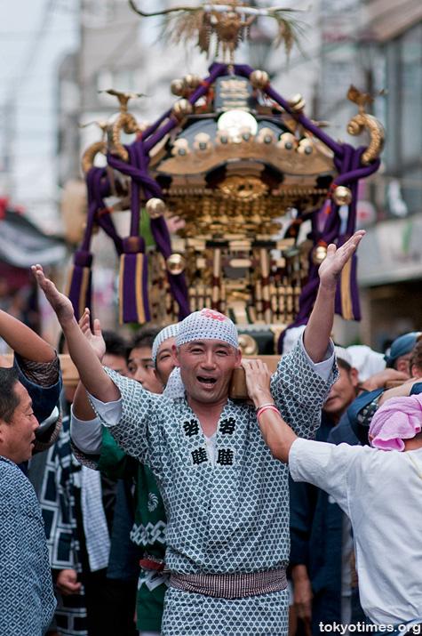 Kunitachi festival in Tokyo