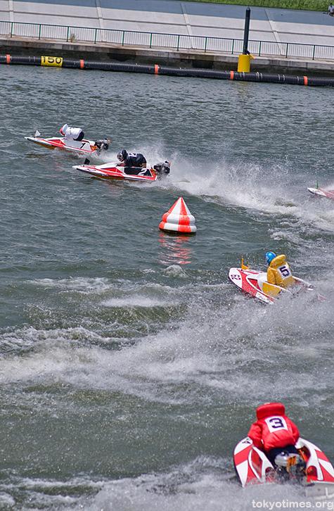 Japanese kyotei/boat racing