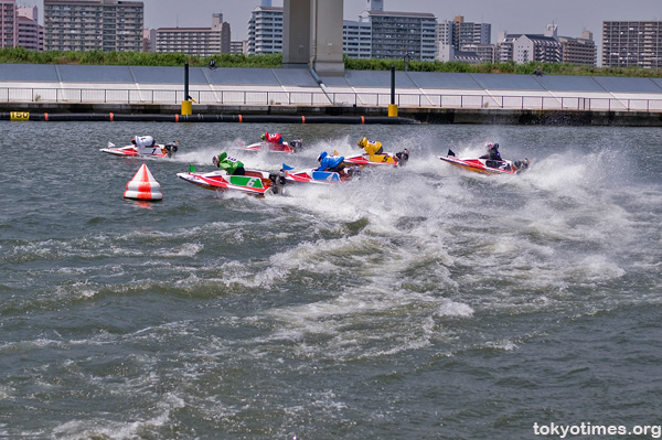 Japanese kyotei/boat racing