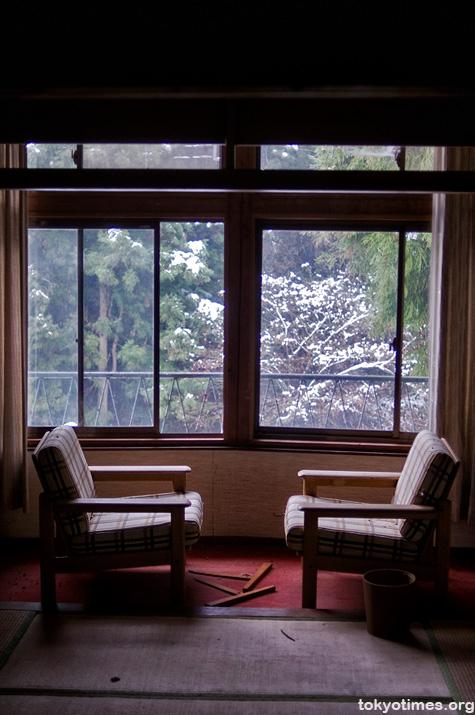 Abandoned Japanese hotel