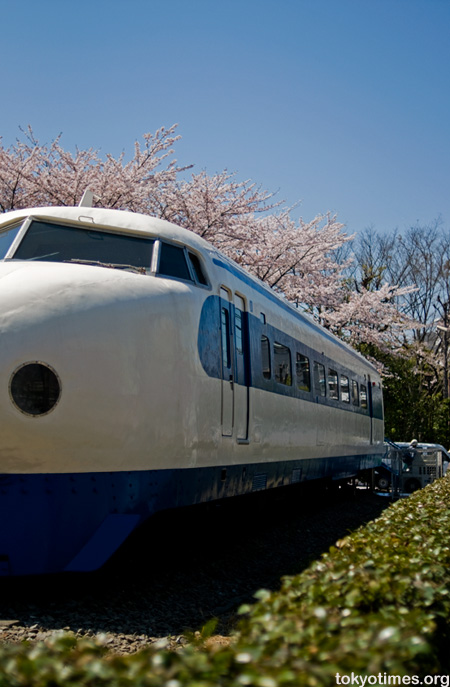 Japanese bullet train library