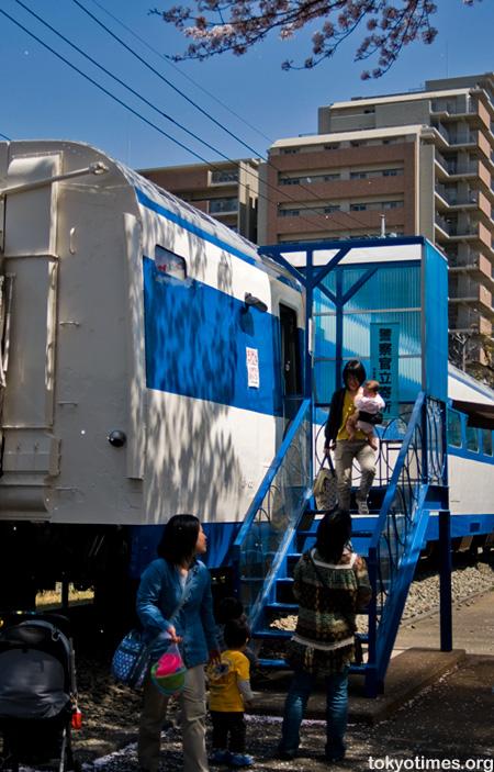 Japanese bullet train library