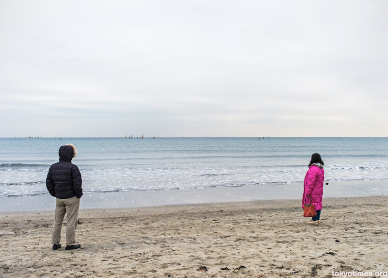 lonely Japanese beach