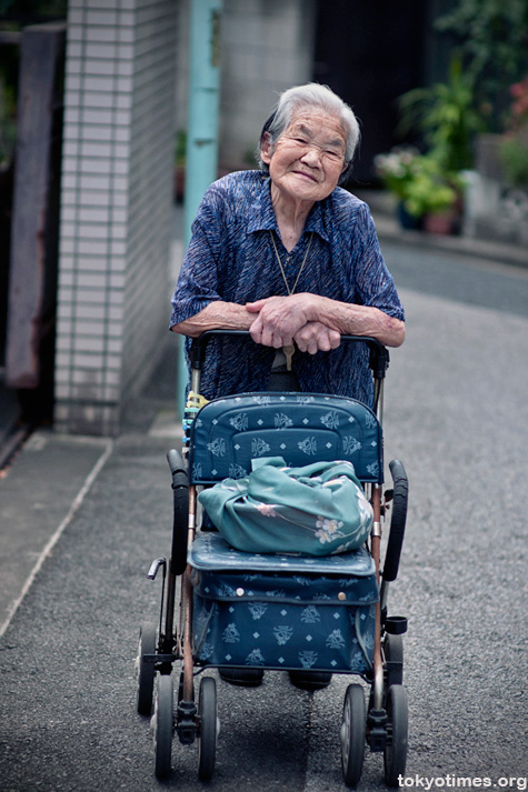 lovely old Japanese lady