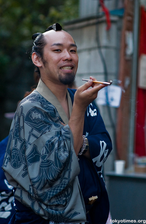 traditional Japanese man