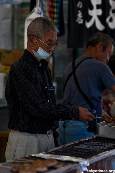 Japanese festival food
