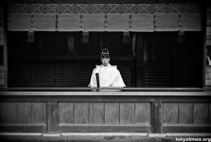 Japanese priest