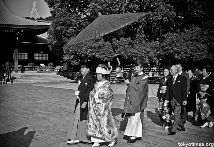 Meiji Shrine shinto wedding