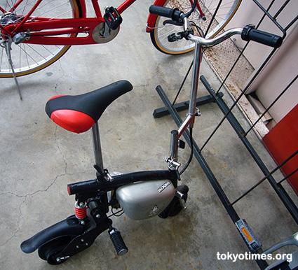 Japanese mini mototrbike