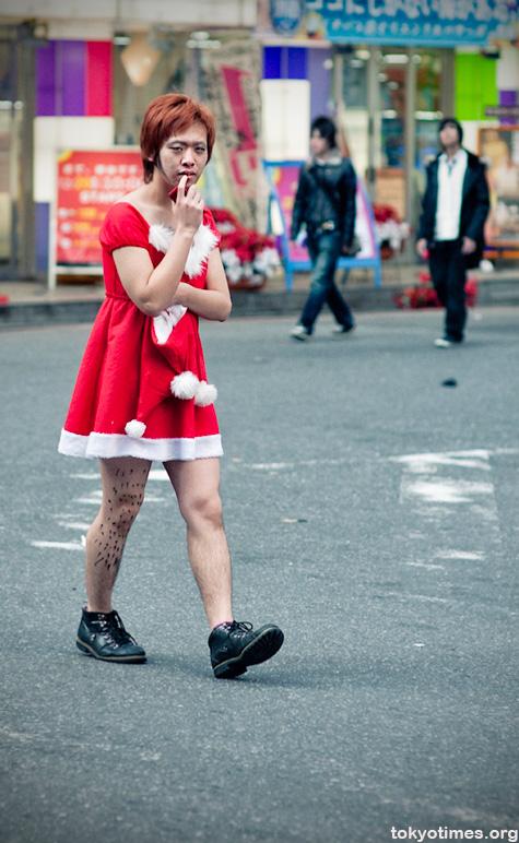 Japanese Mrs Santa