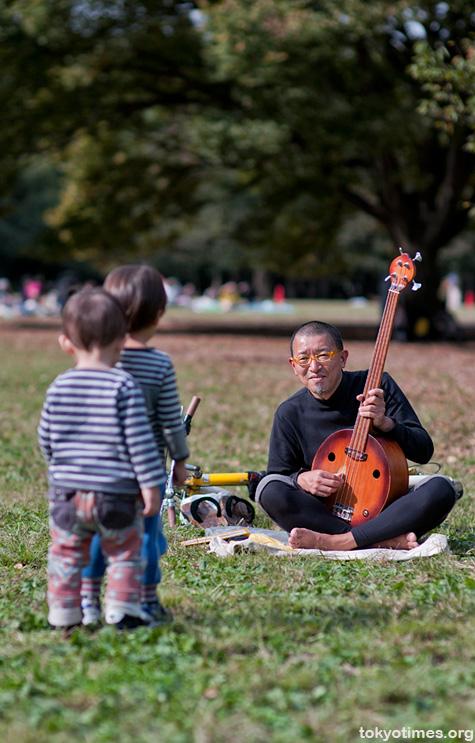 Yoyogi park musician