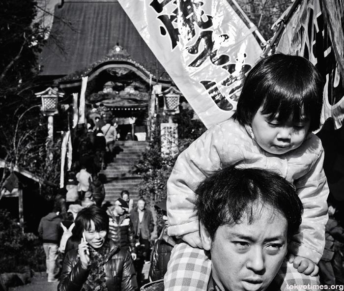 Japanese temple visit