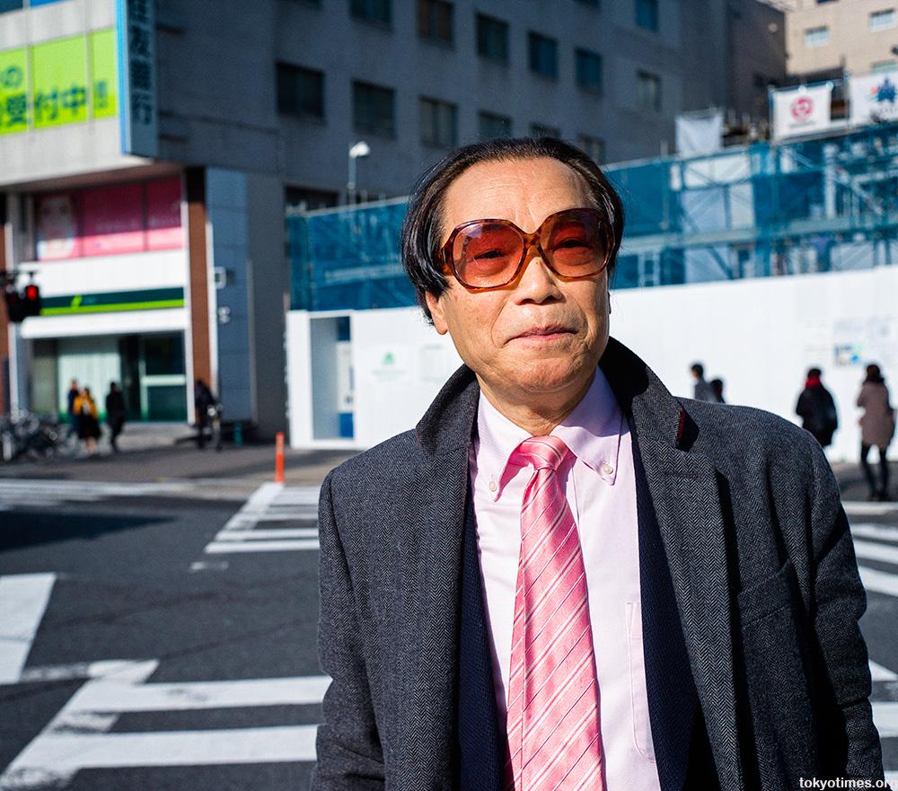 non-conformist Japanese salaryman