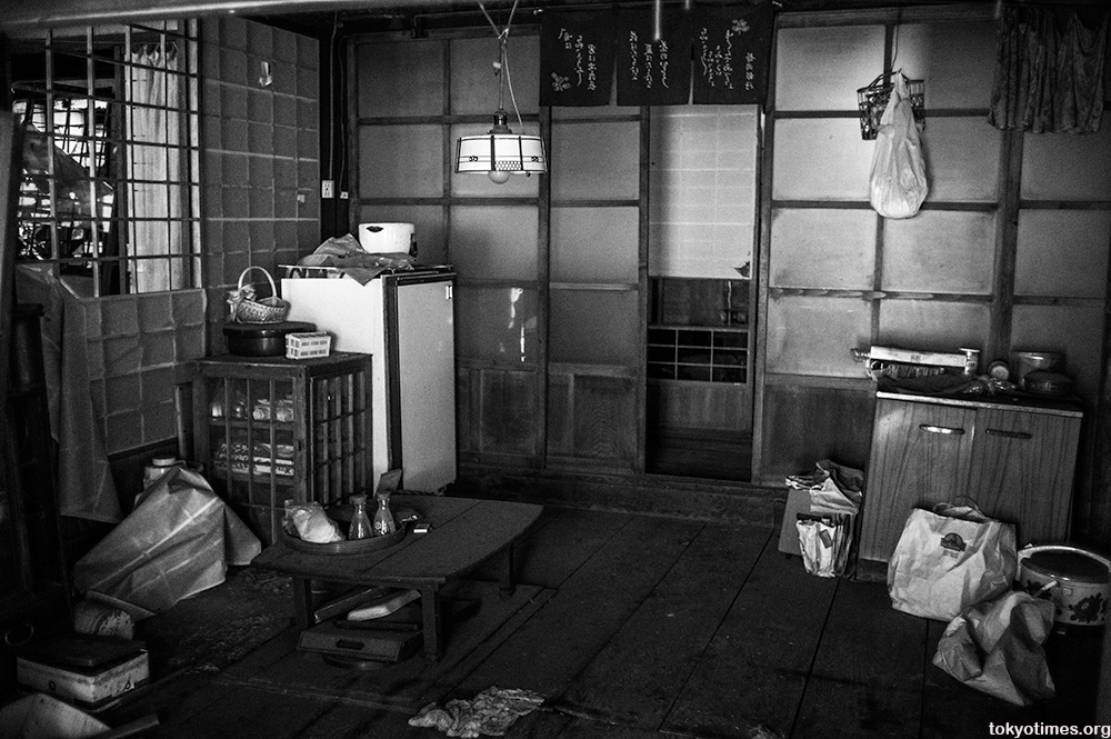 abandoned old Japanese clinic