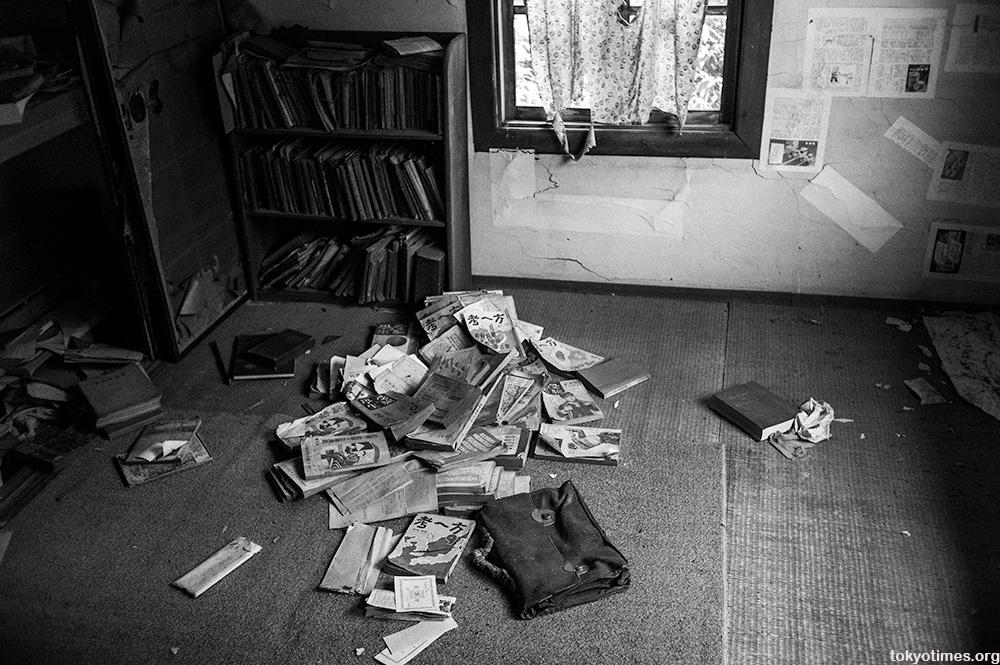 abandoned old Japanese clinic